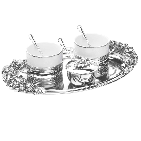 Set argint cafea Larissa