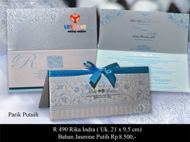 undangan pernikahan rika indra