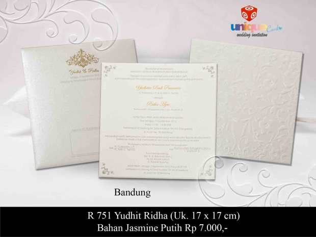 wedding invitation Yudhit Ridha