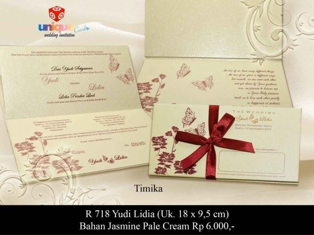 undangan pernikahan di papua Yudi Lidya
