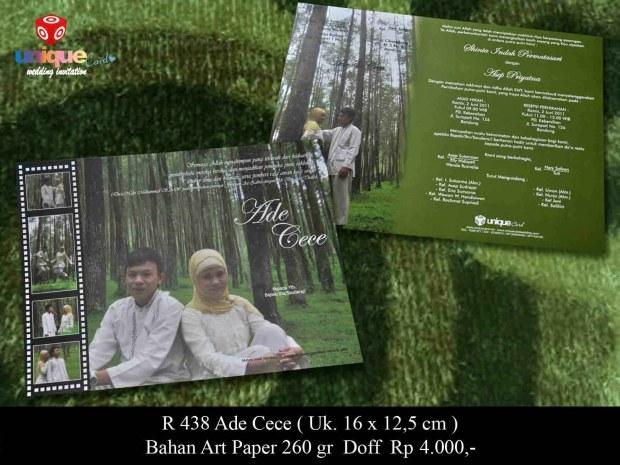 undangan soft cover Ade Cece