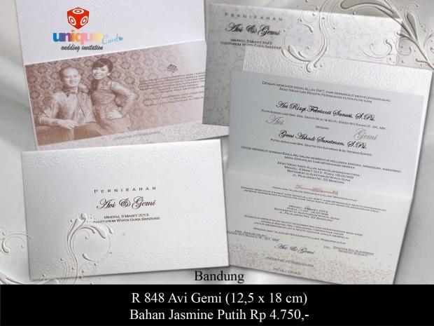 undangan Avy Gemi