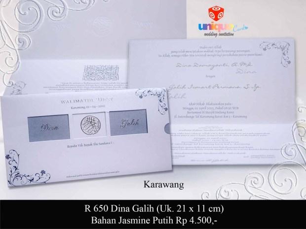 undangan Dina Galih