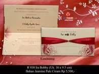 undangan pernikahan Ira Boby