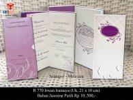 undangan pernikahan Irwan Iramaya
