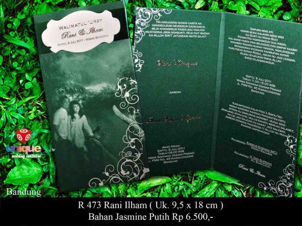 undangan pernikahan Rani - Ilham