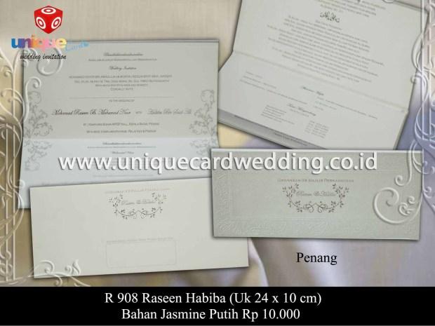 undangan pernikahan Habiba