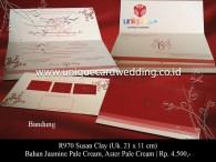 undangan pernikahan Susan Clay