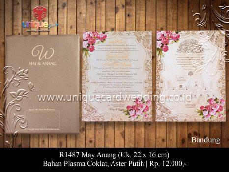 undangan perkawinan May Anang