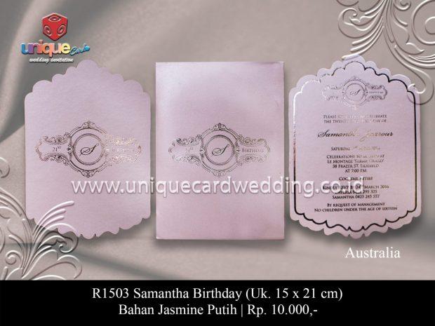 ulang tahun samantha