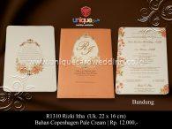 undangan perkawinan Rizki Itha