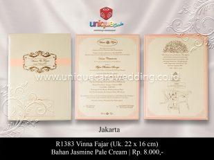 undangan perkawinan Vinna Fajar