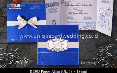 Undangan Pernikahan Poppy Alfan