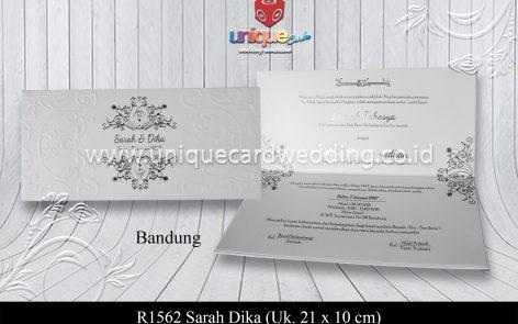 Undangan Pernikahan Sarah Dika