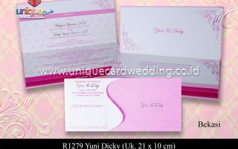 Undangan Pernikahan Yuni Dicky