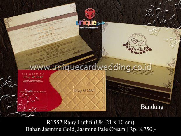 Undangan Pernikahan Rany Luthfi