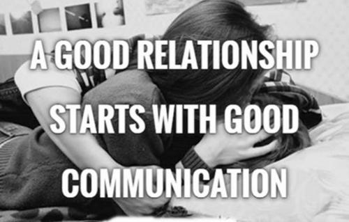 komunikasi dalam hubungan