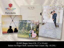 Undangan Pernikahan Bagas Ance
