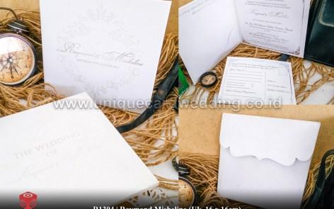 raymon mishelin wedding invitation