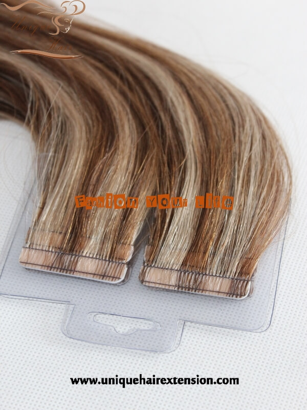Virgin Brazilian Remy Tape Hair Extensions Factory In China