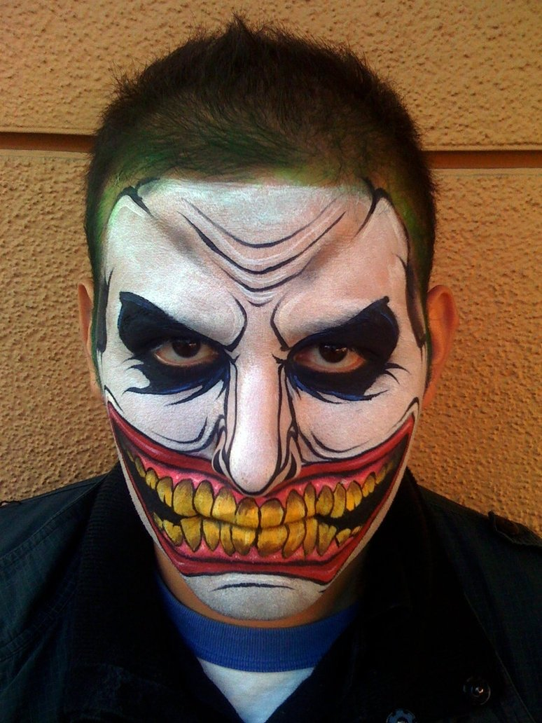halloween face paint not scary | cartooncreative.co
