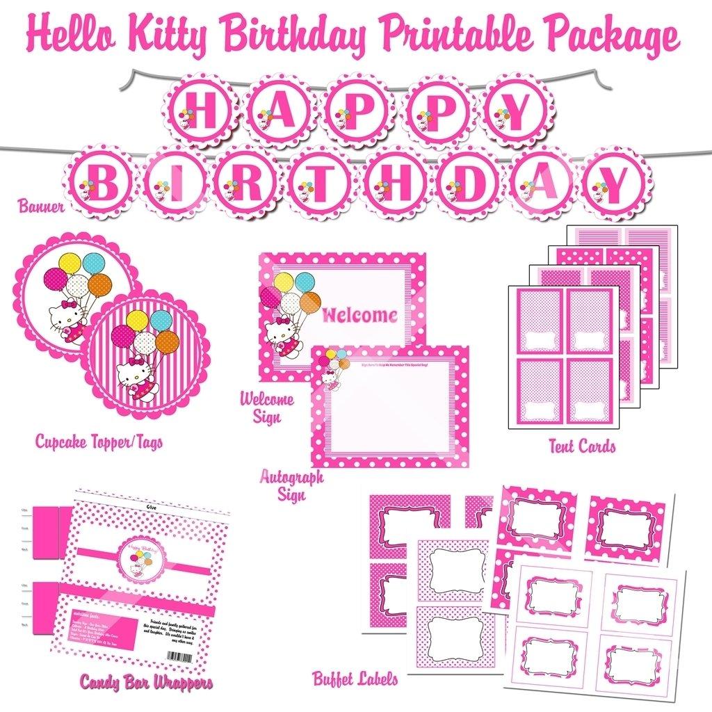 10 wonderful hello kitty birthday party