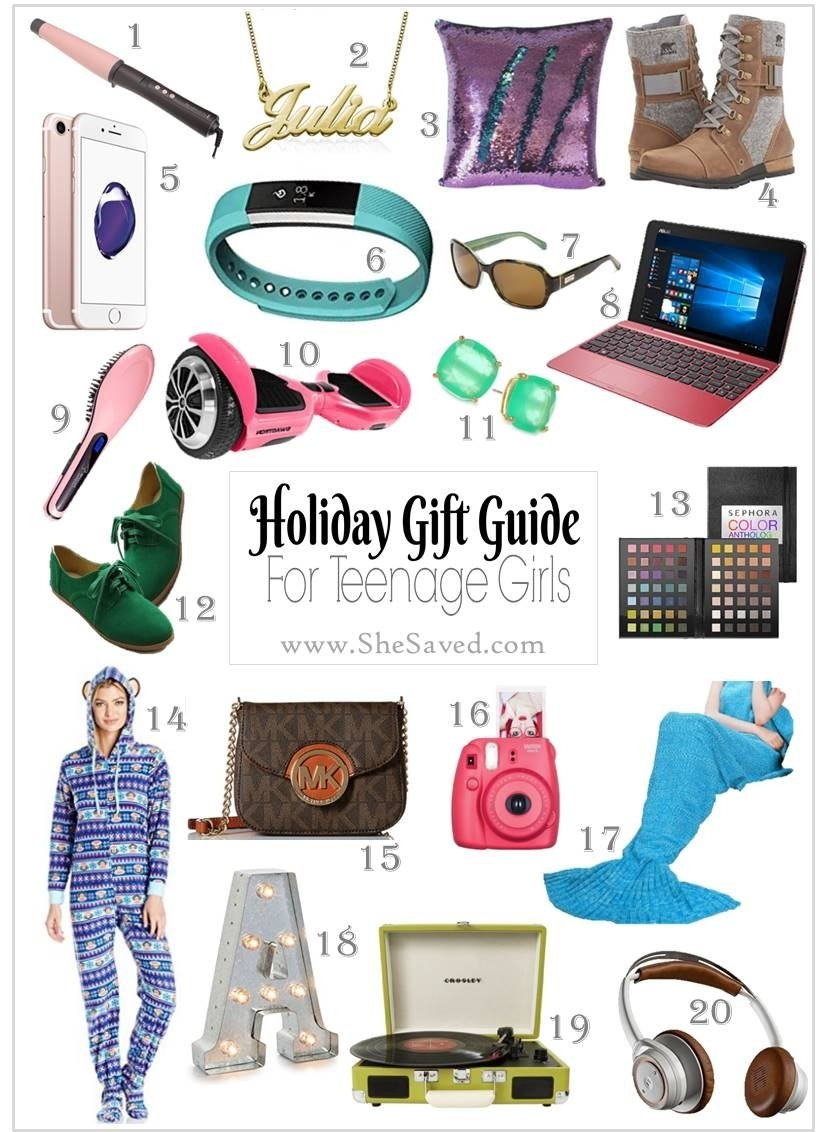 Xmas gifts for 16 girl