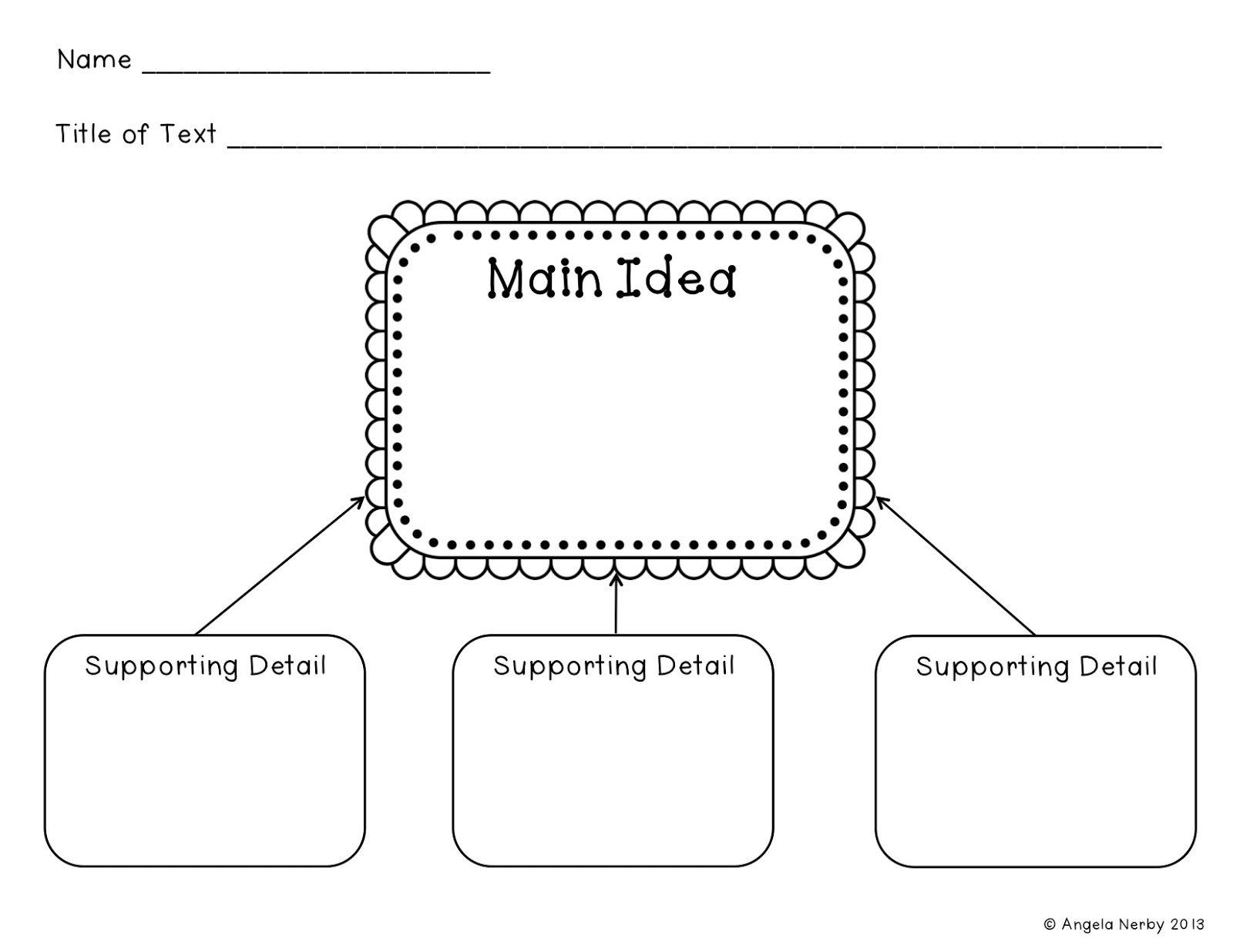 10 Spectacular Main Idea Detail Graphic Organizer