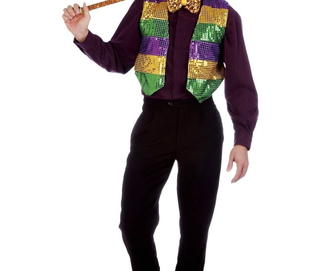 Great Mardi Gras Party Outfit Ideas Mardi Gras Vest Costume Mardi Gras Sequins And Costumes
