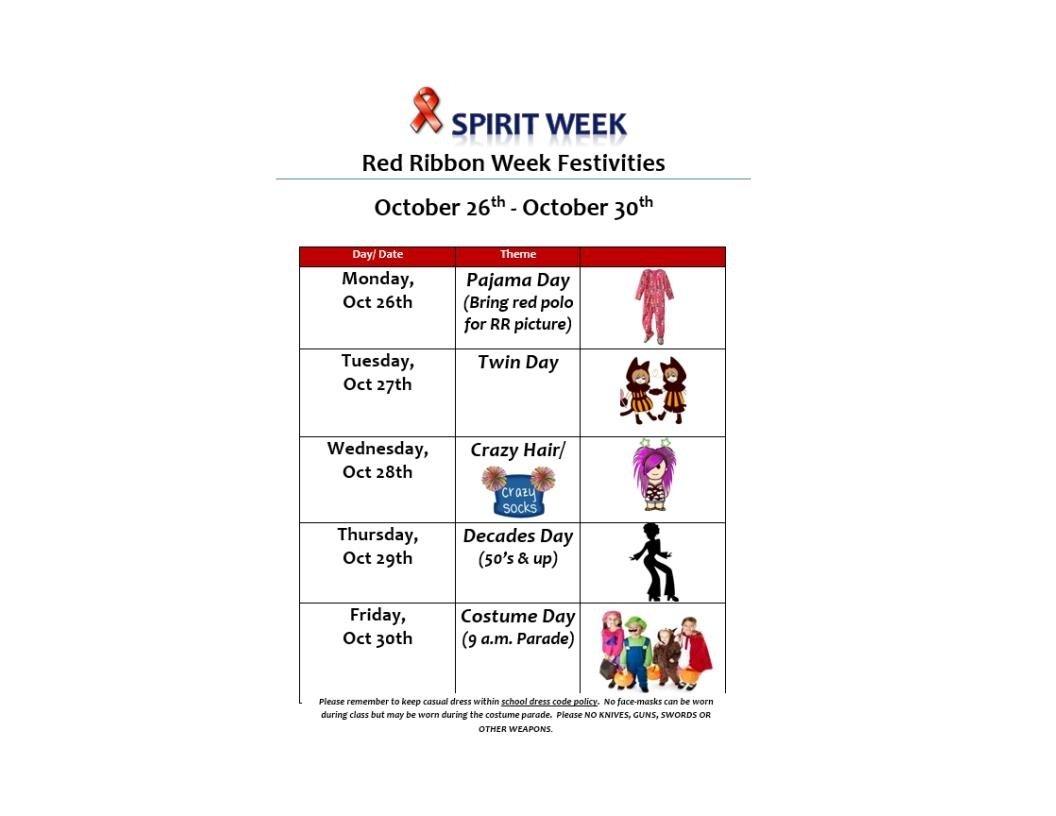 10 Lovable Red Ribbon Week Ideas For Elementary School