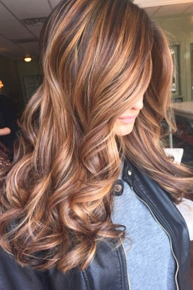 Cute Dark Hair Colors With Highlights Coloringsite