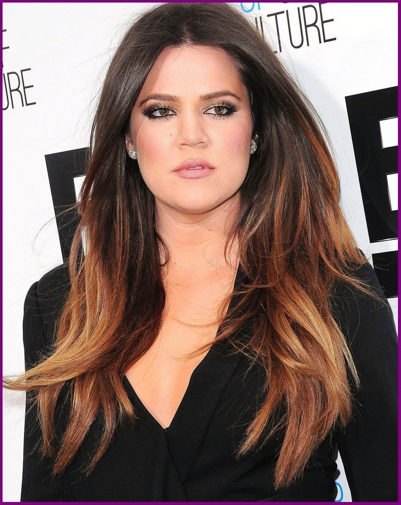 Two Toned Hair Color Ideas For Brunettes Coloringsite