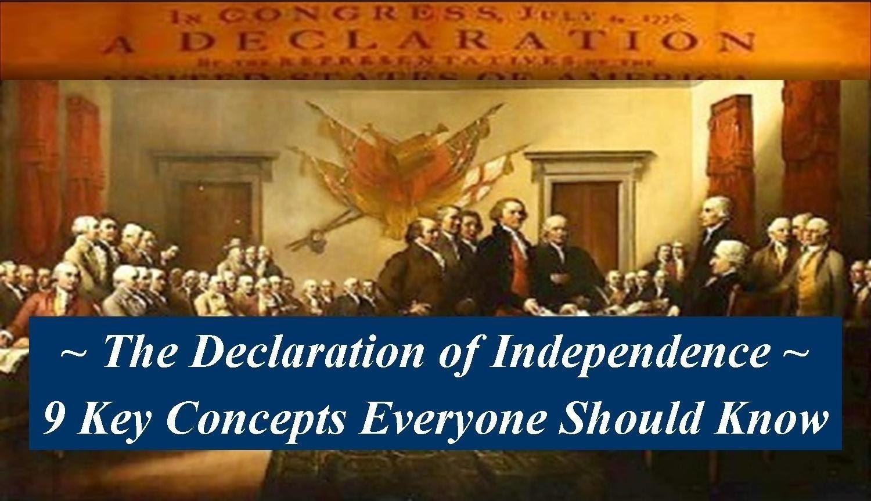 10 Elegant Main Ideas Of Declaration Of Independence