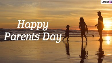 Happy Parents' Day 2020 Greetings & HD Images: Celebrate Global Day of Parents With WhatsApp Stickers, Quotes, Facebook Messages, SMS and Wishes