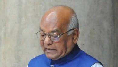 Haryana Governor Satyadeo Narain Arya.
