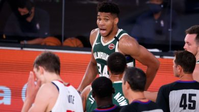 NBA suspends Bucks' Giannis Antetokounmpo 1 game for headbutting Wizards' Moe Wagner