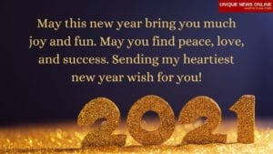 Happy New Year Images in English 2021