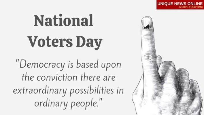 National Voters Day Wishes