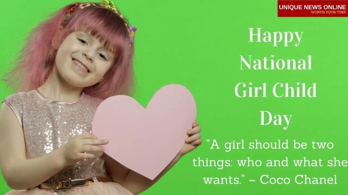 Girl Child Day HD Images to Share