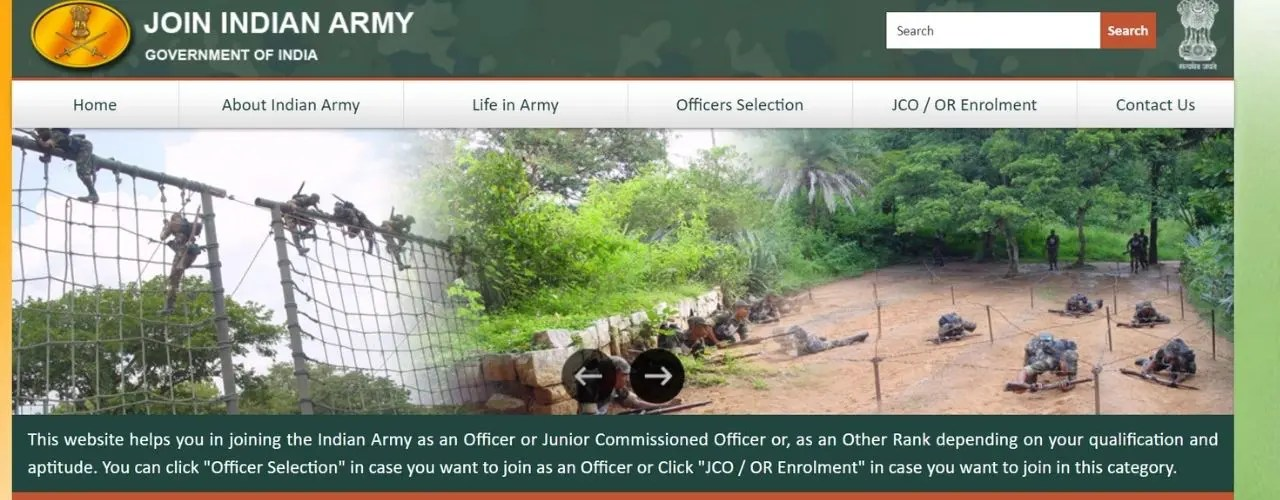 Government job in the army, can pass 12th, applications are completed