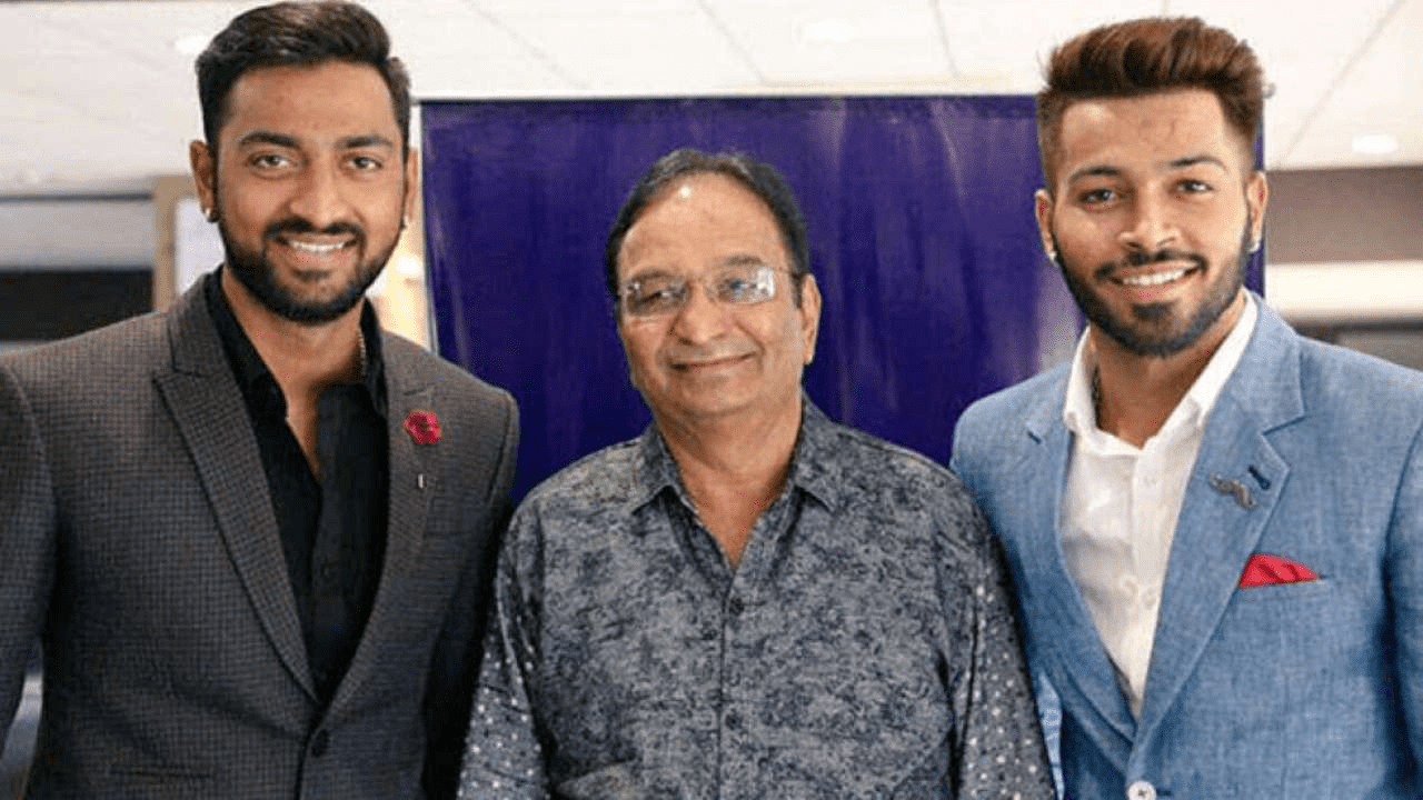 Pandya brothers father dead, Krunal out of bio bubble