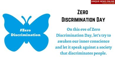 Happy Zero Discrimination Day Wishes, Messages, Greetings, Images and Quotes