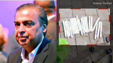 Ambani threatened! Letter from the explosive car found near the house #MukeshAmbani
