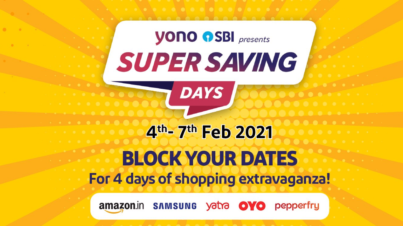 State Bank of India brought 'Super Saving Days' sale, up to 50% discount on payment from YONO