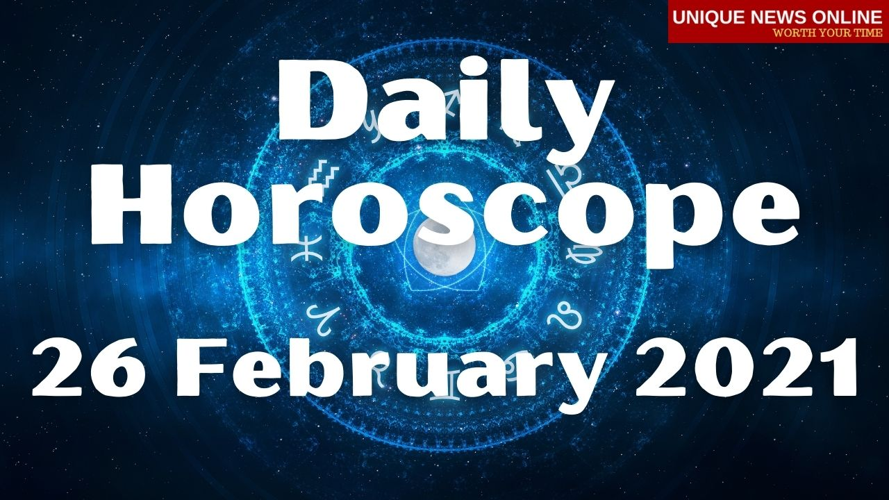 Daily Horoscope: 26 February 2021, Check astrological prediction for Aries, Leo, Cancer, Libra, Scorpio, Virgo, and other Zodiac Signs