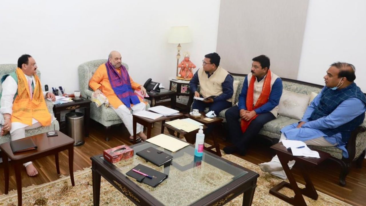 Assam Elections: BJP and allies in Assam agree on seat sharing, which will be announced today