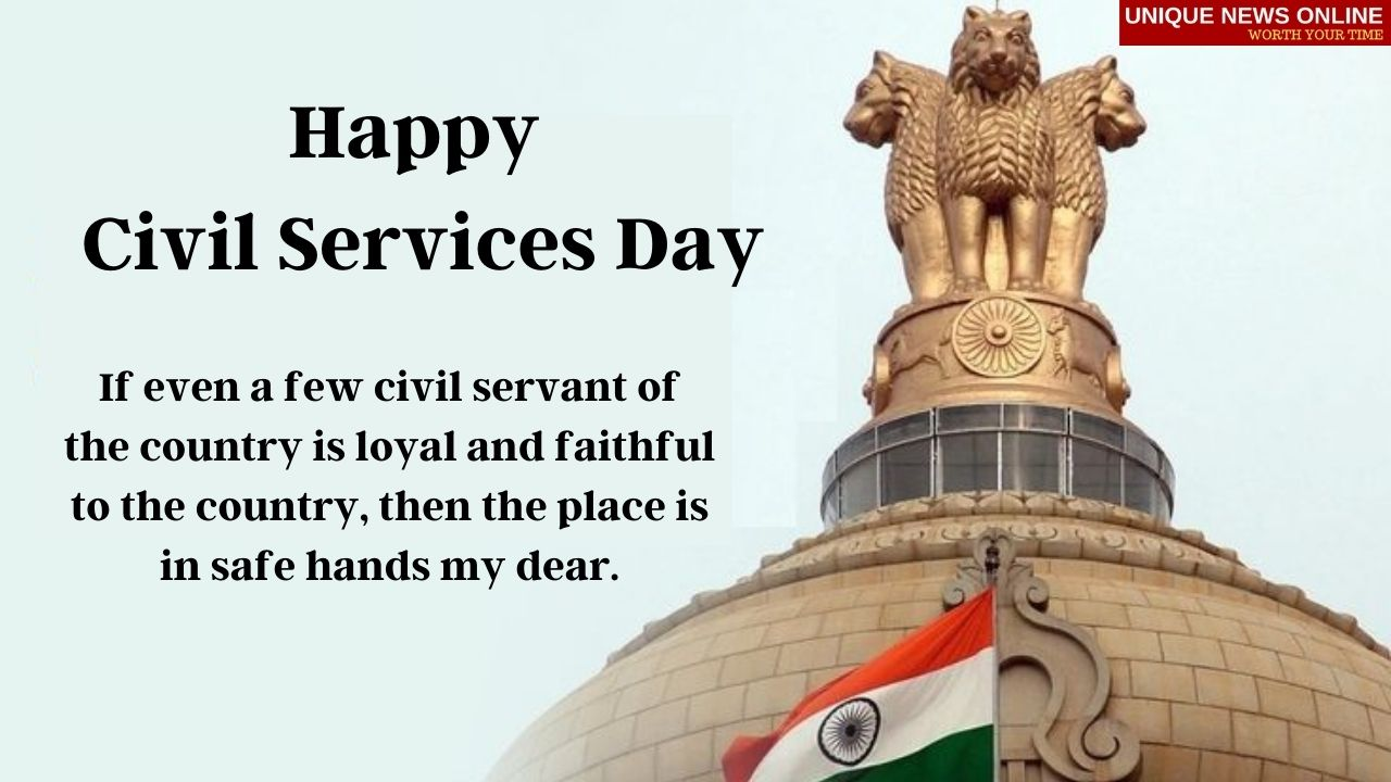 Happy Civil Services Day 2021 Wishes, Messages, Greetings, Quotes, and Images