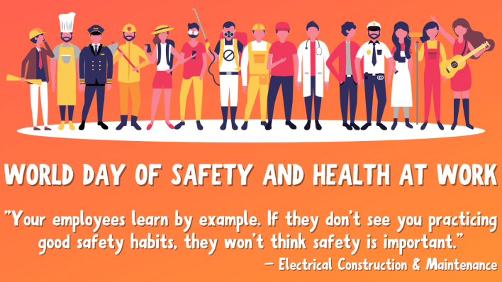 World Day of Safety and Health At Work Images