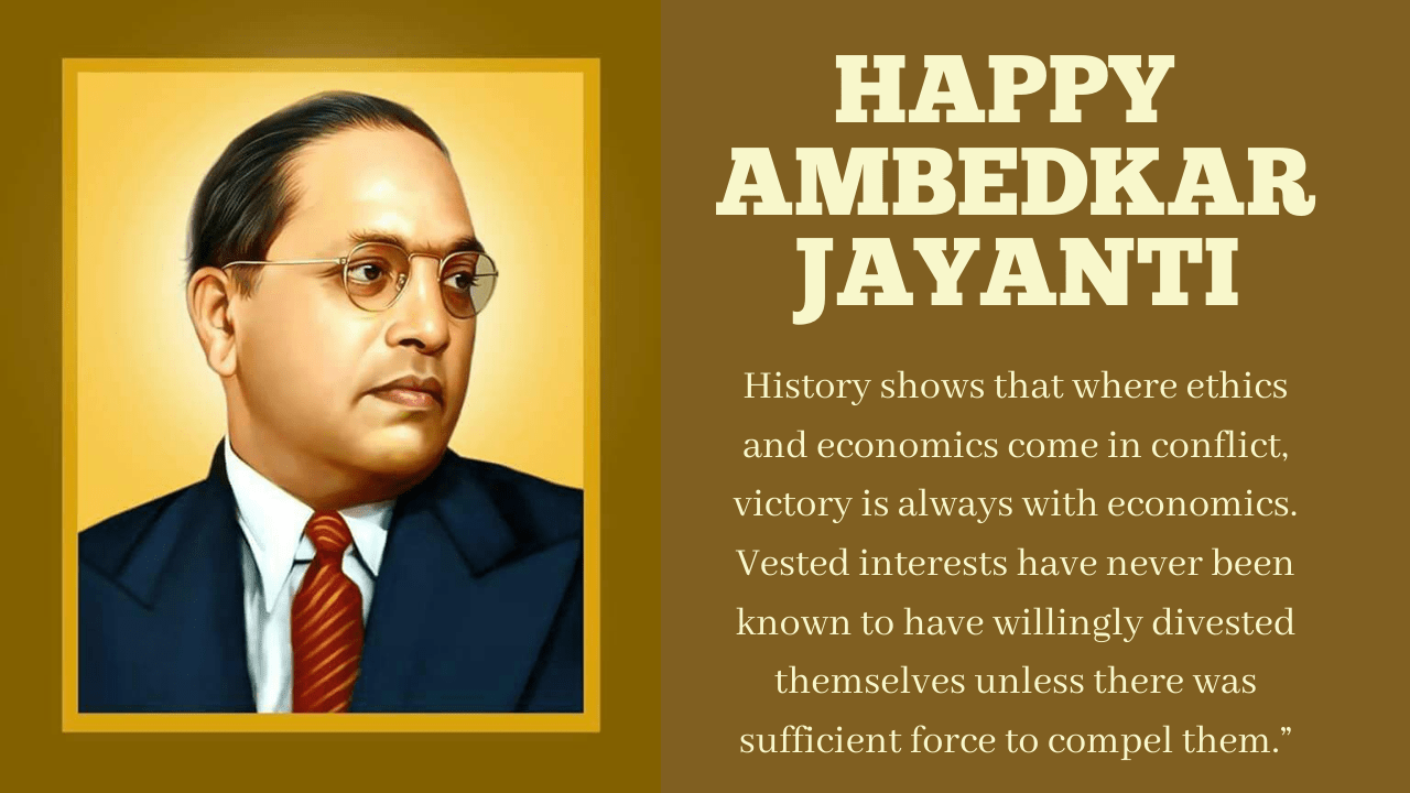 BR Ambedkar Jayanti 2021 Wishes, Images, Quotes, Messages, and Greetings to Share on Birthday of BhimRao Baba Saheb