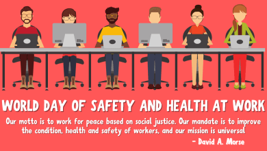 World Day for Safety and Health at Work 2021 Theme, Poster, Quotes, and Images